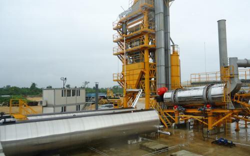 PAACHE Asphalt batching Plant 120 T/Hr